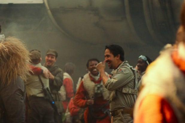 star wars rise of skywalker lin manuel miranda cameo