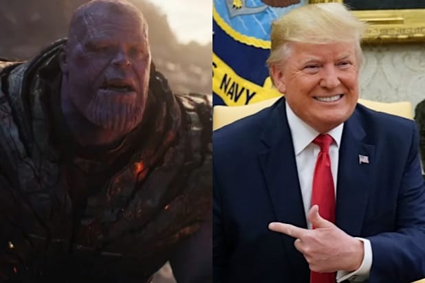 Trump Campaign Tweets Video of POTUS as Thanos From 'Avengers: Endgame'