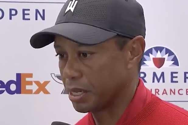 Tiger Woods talking about Kobe Bryant