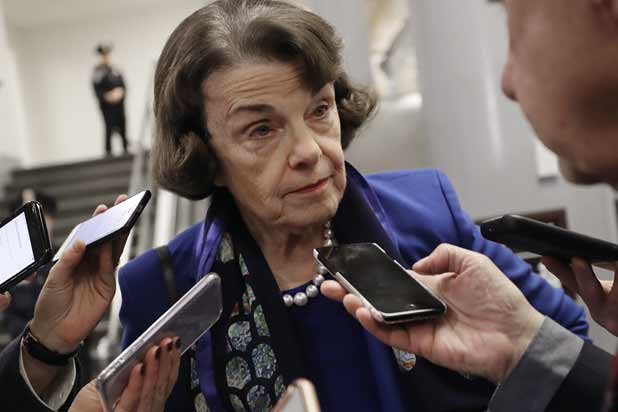 LA Times Updates Headline About Dianne Feinstein's Impeachment Stance After Getting Corrected by Senator