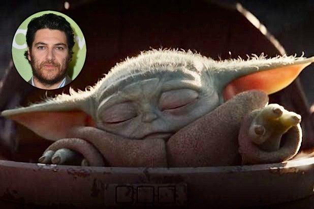 Adam Pally Baby Yoda