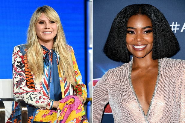 Former 'AGT' Judge Heidi Klum Weighs in on Flap Over Gabrielle Union Ouster