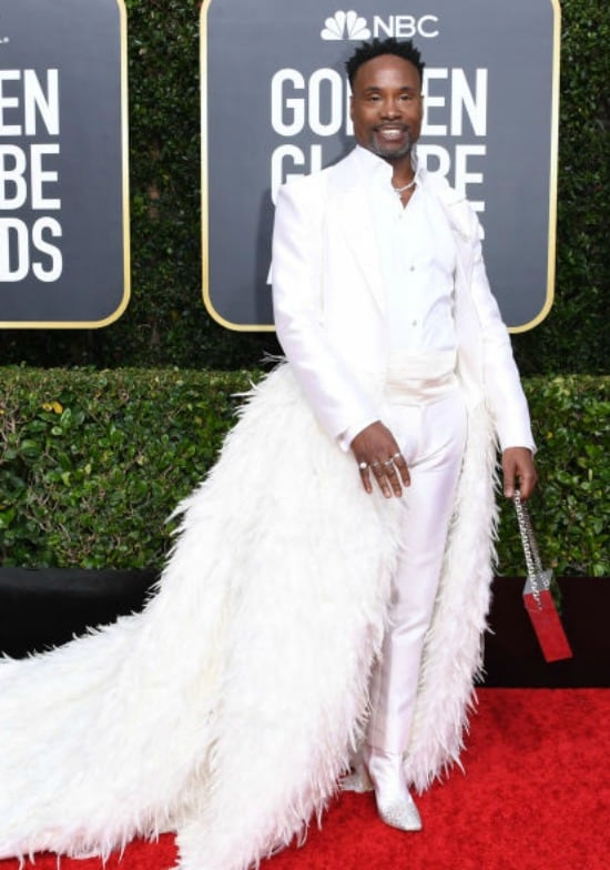Billy Porter Golden Globes 2020