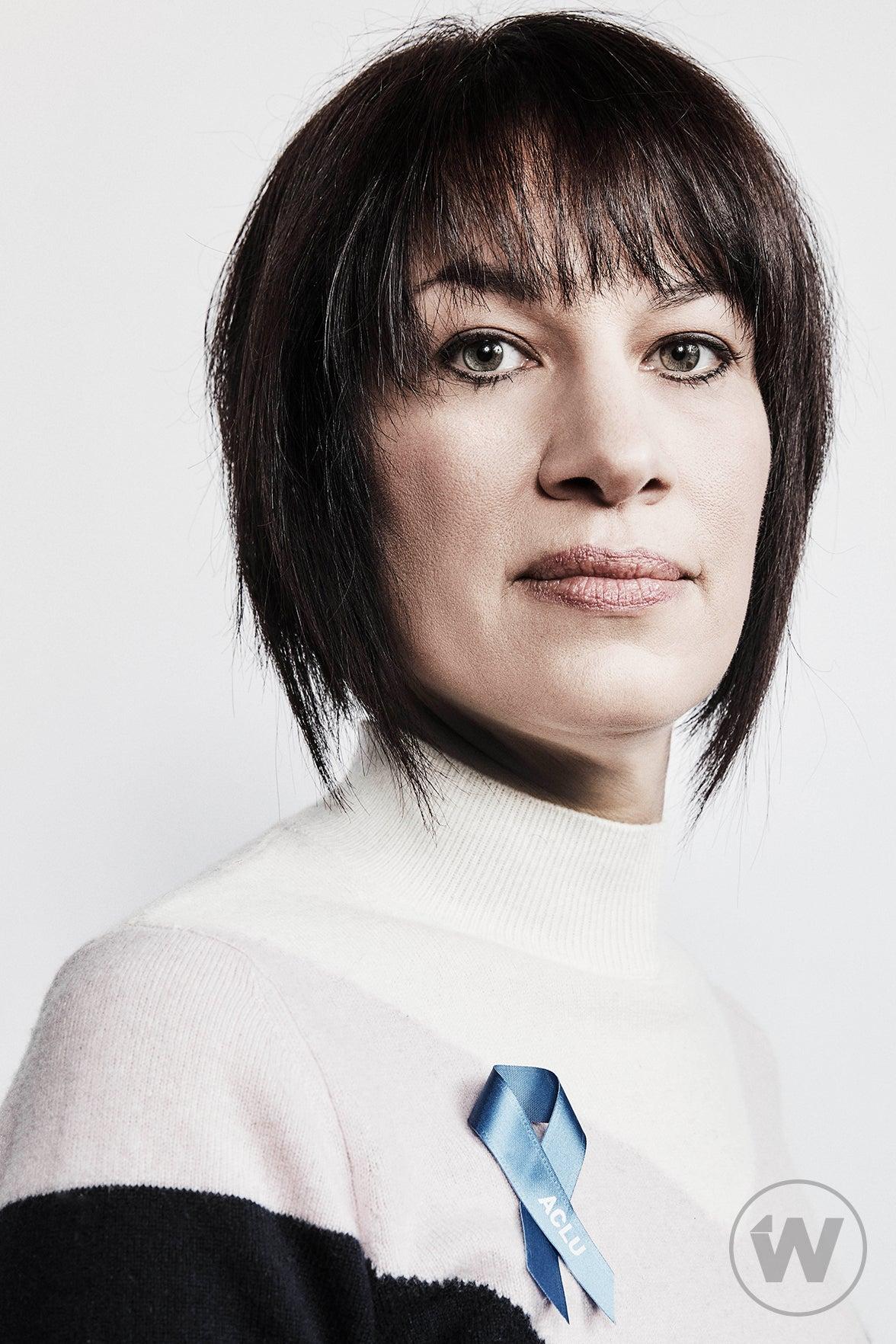 Brigitte Amiri, The Fight