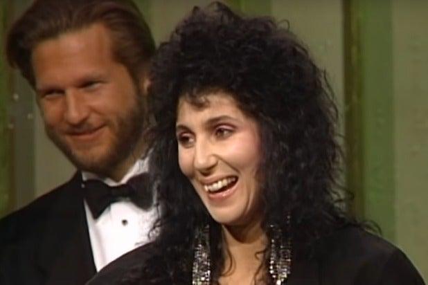 Cher Golden Globes