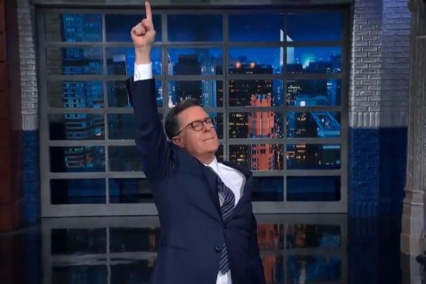 Stephen Colbert Raps (Poorly) to Explain the John Bolton-Impeachment Drama (Video)