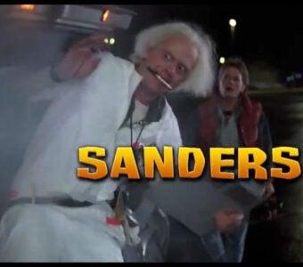 Colbert Democratic Debate Sanders Doc Brown