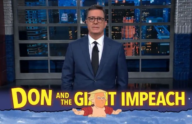 Colbert Donald Trump Mitch McConnell