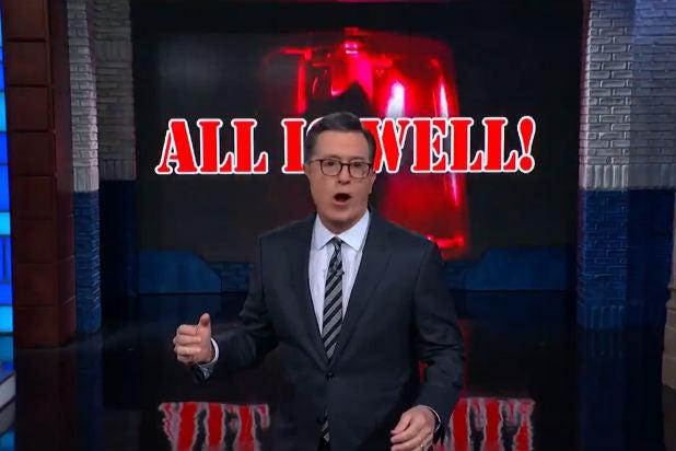 Colbert Iran Trump All is Well