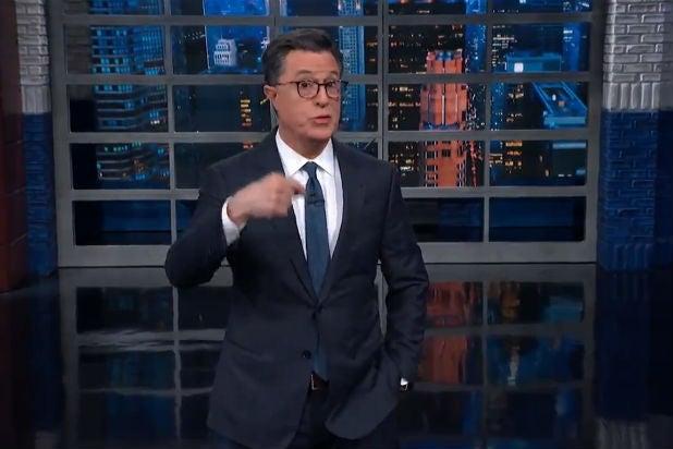Colbert Trump Briefing Iran
