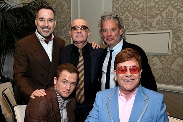 Taron Egerton Sir Elton John