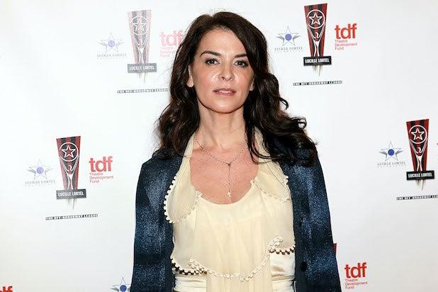 Annabella Sciorra pictured in 2011