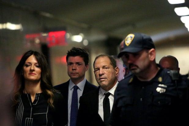 Harvey Weinstein, Donna Rotunno, Damon Cheronis