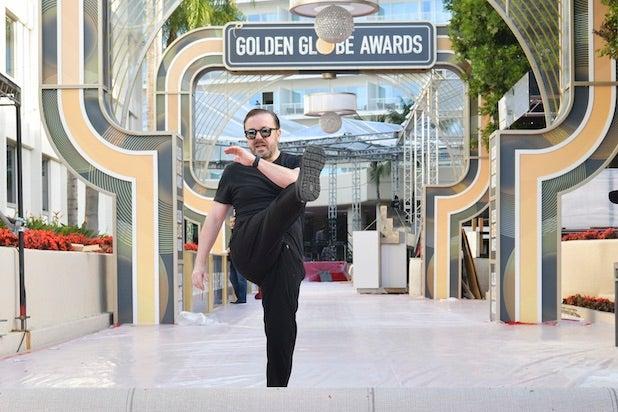 Ricky Gervais Golden Globe Awards