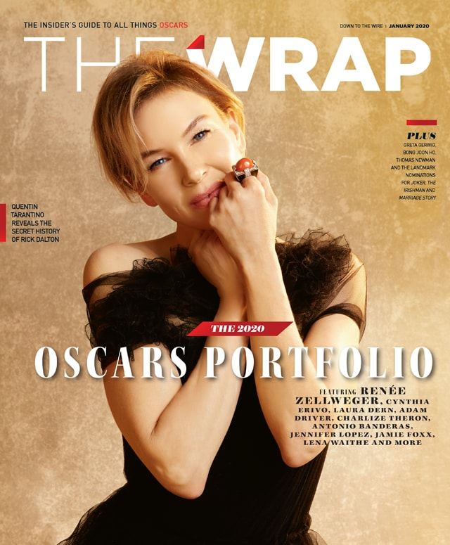 thewrap oscar issue down to the wire 2020 renee zellweger