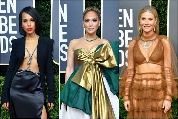 Kerry Washington Jennifer Lopez Gwyneth Paltrow Golden Globes 2020