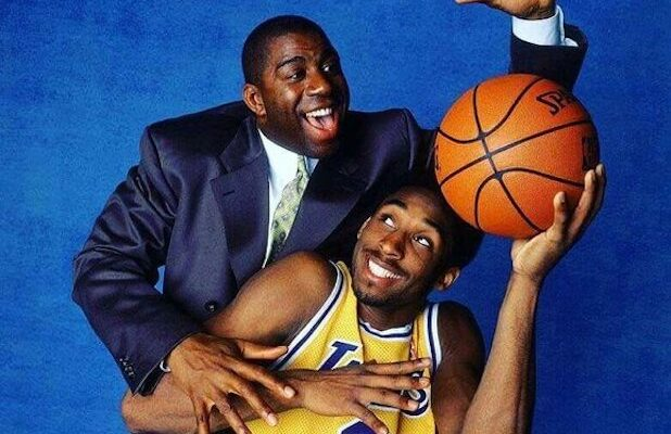 Kobe Bryant Magic Johnson