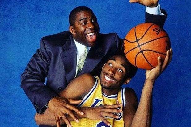 Kobe Bryant Magic Johnson