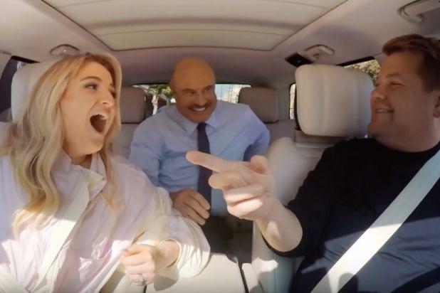 Dr. Phil Crashes Meghan Trainor's 'Carpool Karaoke' (Video)