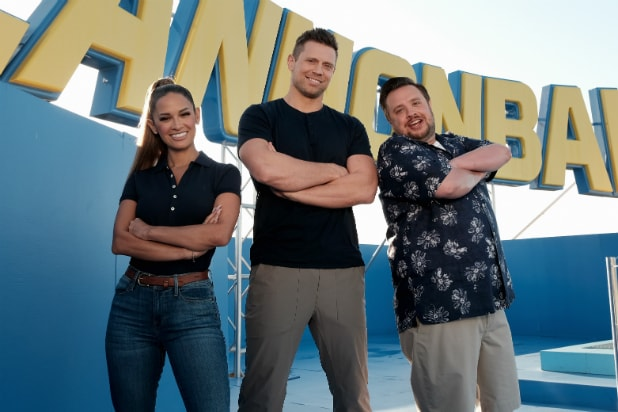 Mike Mizanin and Cannonball co-hosts