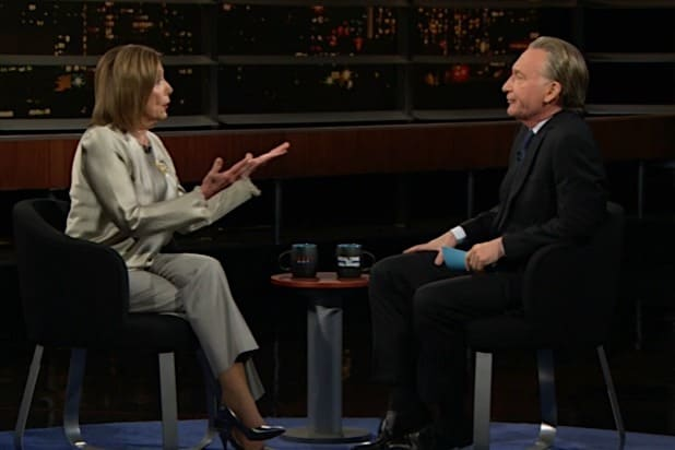 Nancy Pelosi Bill Maher