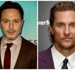 Nic Pizzolatto and Matthew McConaughey