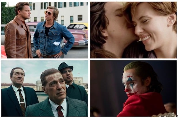 Once Upon a Time in Hollywood, Marriage Story, Joker, The Irishman