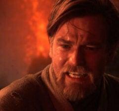 Ewan McGregor as Obi-Wan Revenge of the Sith