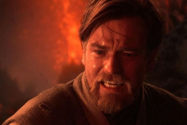 Ewan McGregor as Obi-Wan Revenge of the Sith