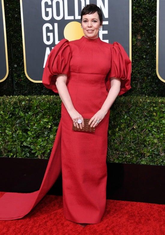 Olivia Coleman Golden Globes 2020