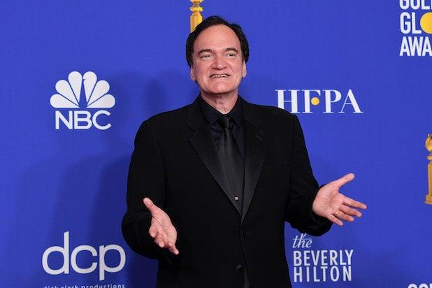 Quentin Tarantino Golden Globes