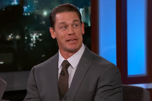 'The Suicide Squad' Star John Cena Evades Saying Whether He's Playing Peacemaker (Video)