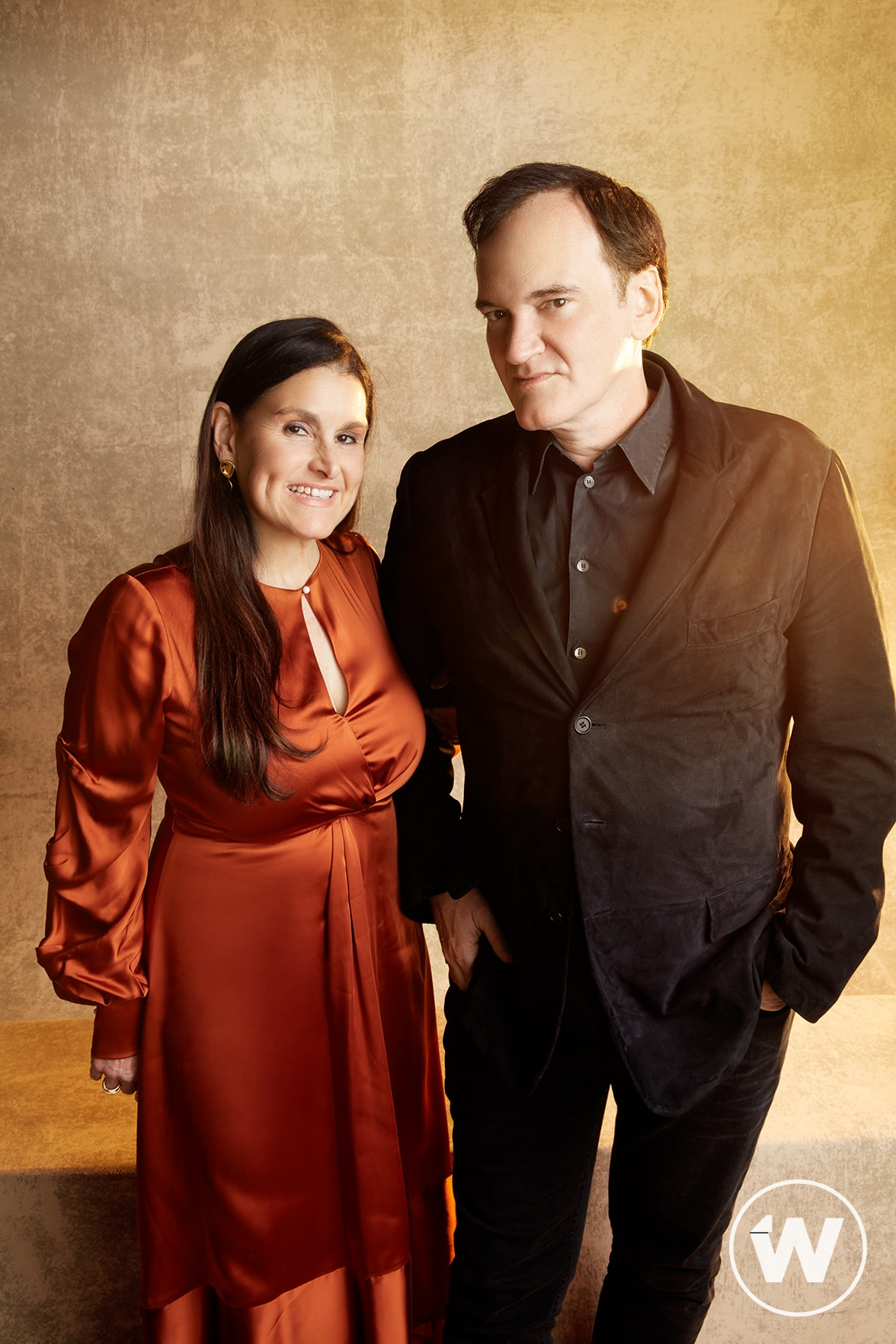 Shannon McIntosh and Quentin Tarantino, Once Upon a Time in Hollywood