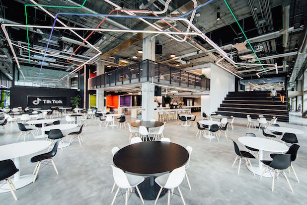 TikTok Moves Into Sprawling 5-Story Office in Los Angeles