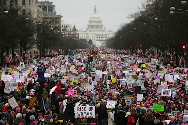Women's March 2017 National Archives