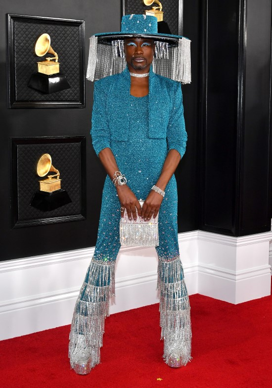 2020 Grammy Awards Red Carpet Billy Porter