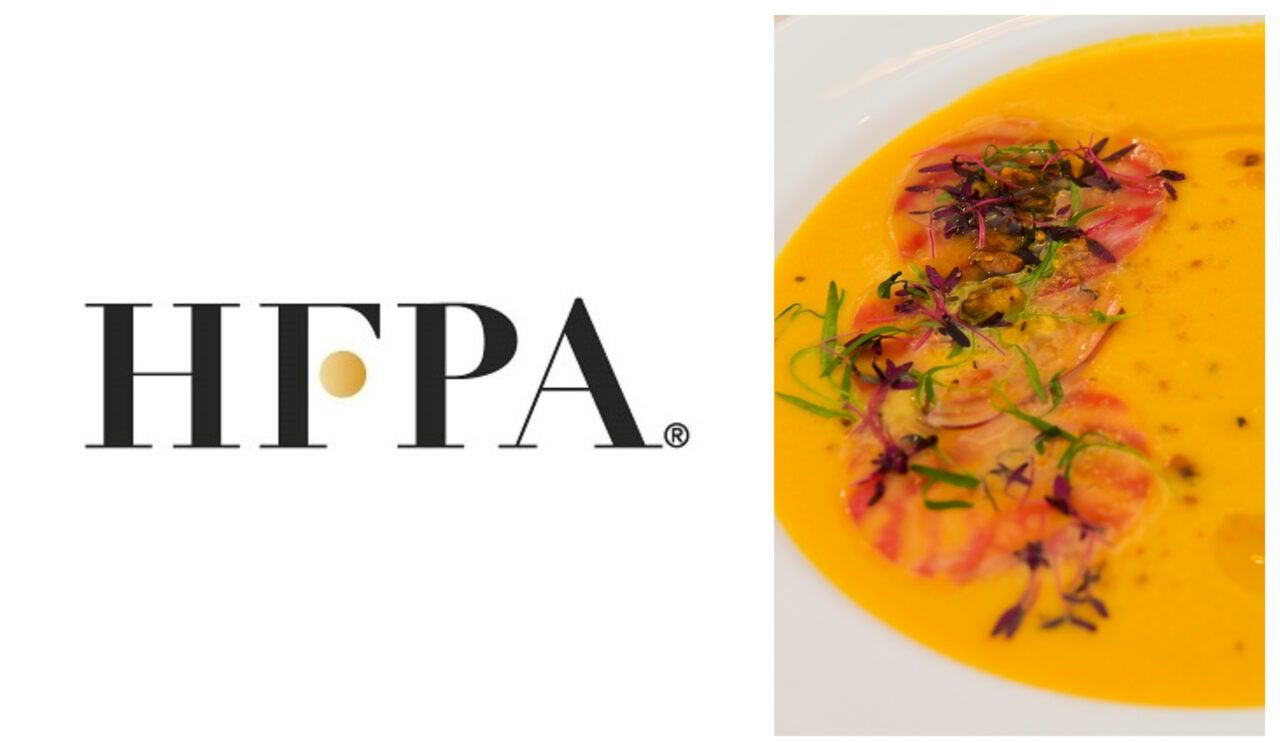 HFPA Golden Globes Vegan Soup