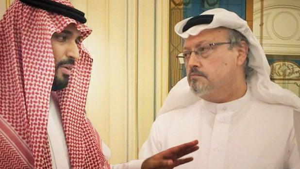the dissident Jamal Khashoggi