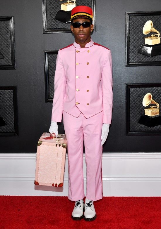 2020 Grammy Awards Red Carpet Tyler the Creator