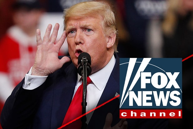 Trump Calls Fox News 'Unwatchable,…