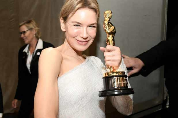 Renee Zellweger at the Governor's Ball