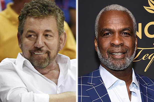 James Dolan and Charles Oakley
