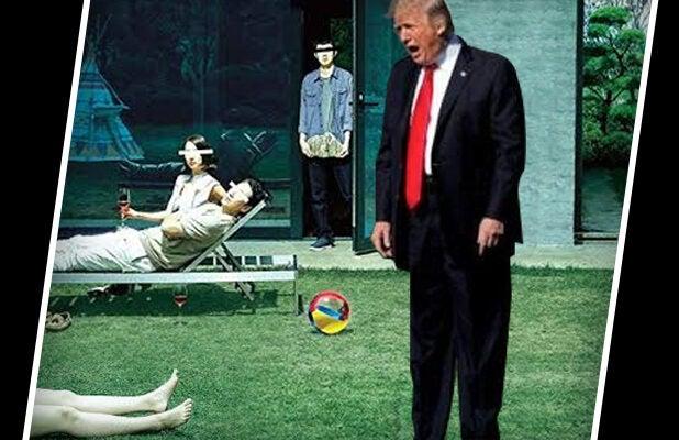 Trump Parasite