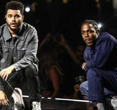 The Weeknd and Kendrick Lamar