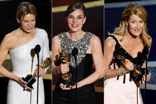 Female Oscar Winners 2020 split