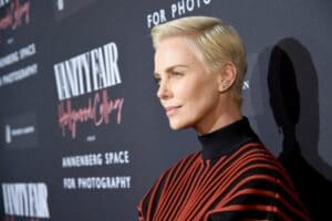 Charlize Theron at the Vanity Fair Annenberg Photography