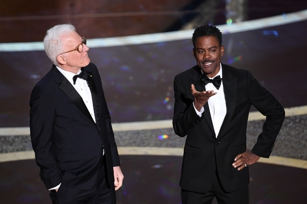 Chris Rock Steve Martin Oscars 2020