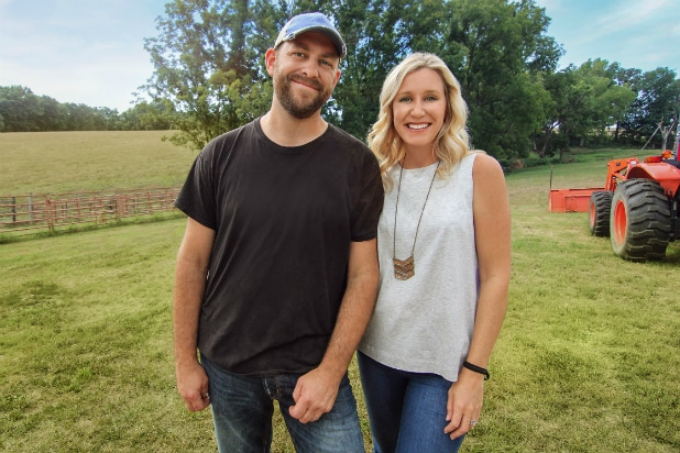 Dave and Jenny Marrs on HGTV Fixer to Fabulous