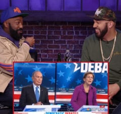 Desus and Mero Warren Bloomberg Debate