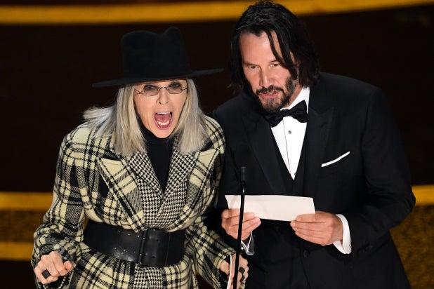 Diane Keaton, Keanu Reeves, Oscars